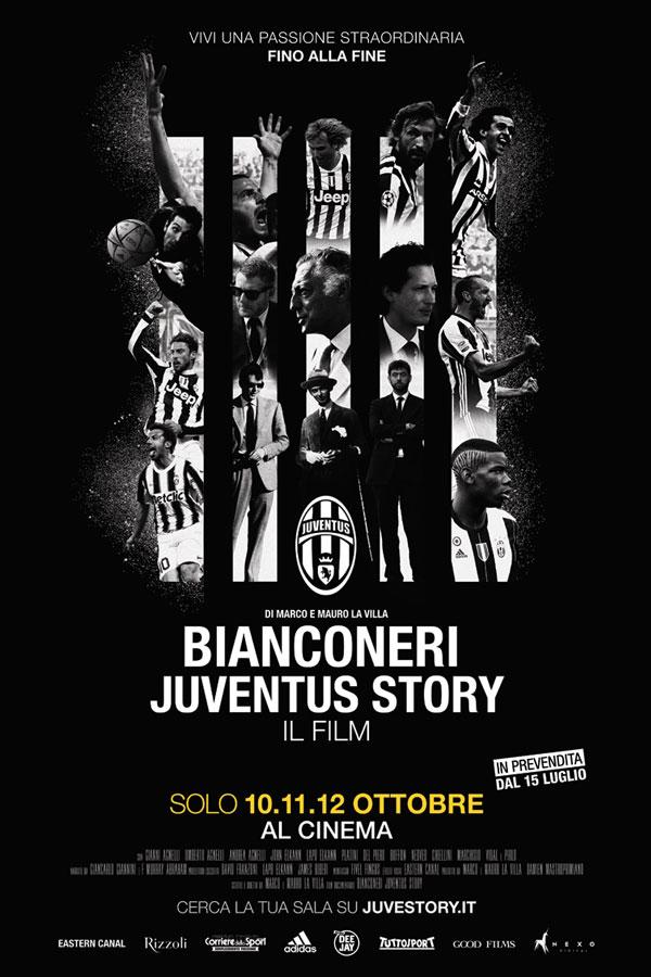 Bianconeri Juventus Story - locandina