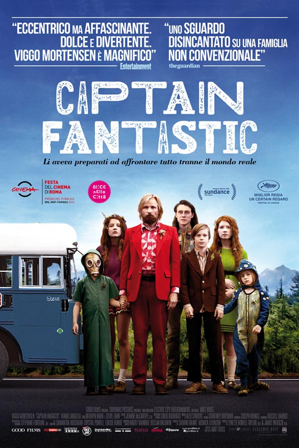Captain Fantastic - locandina